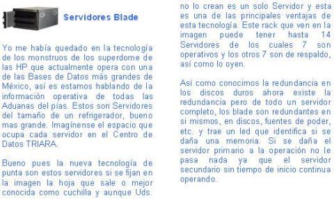 Servidores Blade
